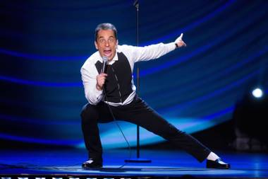 The busy Chicago-born comedian returns to the Aces of Comedy series at the Mirage this week.