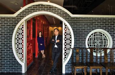 David Sim and Heesoo Hwang are expanding their influence on Las Vegas' Asian food scene.