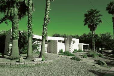 A home in the (now historical!) Paradise Palms neighborhood.