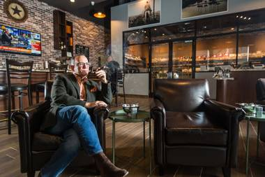 The man behind Casa Fuente and the new Montecristo Cigar Bar at Caesars Palace has a new headquarters off the Strip.