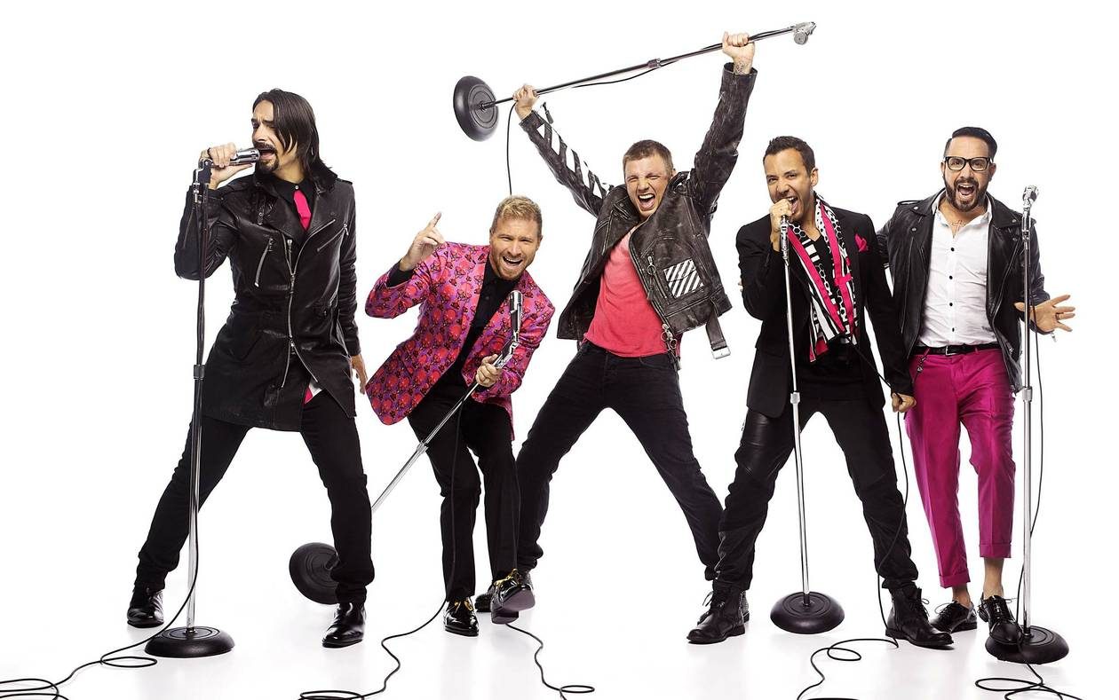 Backstreet Boys: Larger Than Life debuts at the Axis March 1.
