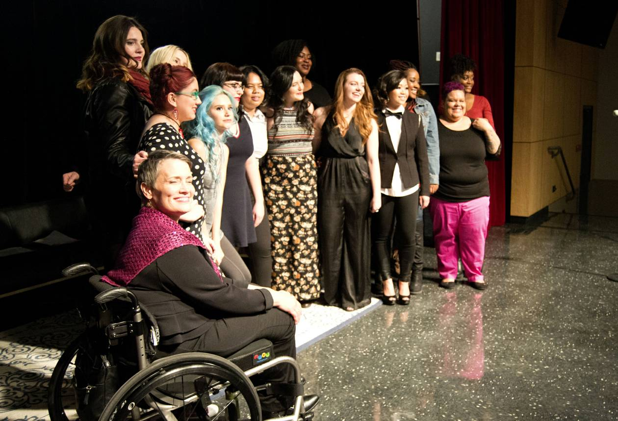 "A UNLV production of ""The Vagina Monologues."""