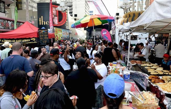 Great Las Vegas Taste U0026 Sounds Of Soul Festival Returns To Fremont Street