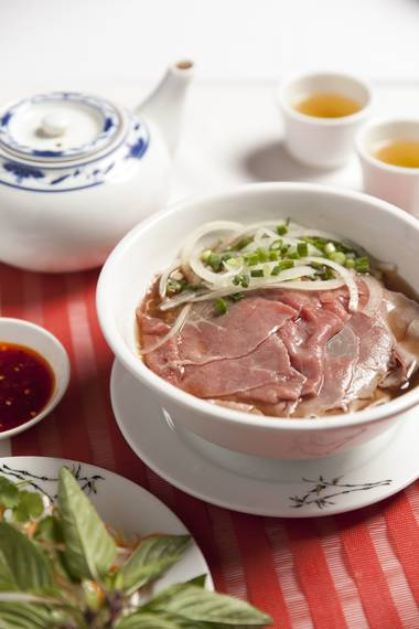 Vietnamese pho is just one Silk Road's excellente noodle soups.