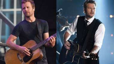 Dierks Bentley and Blake Shelton bring their hits to the Strip this weekend.
