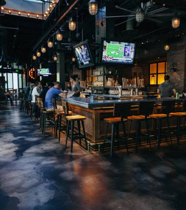 Whether it's Downtown or on the Strip, these watering holes will satisfy to start your night out.