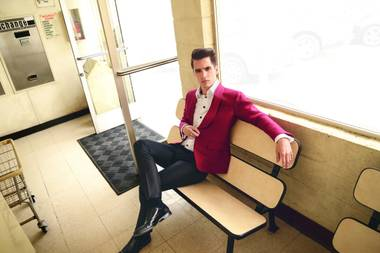 Panic! at the Disco's Brendon Urie.