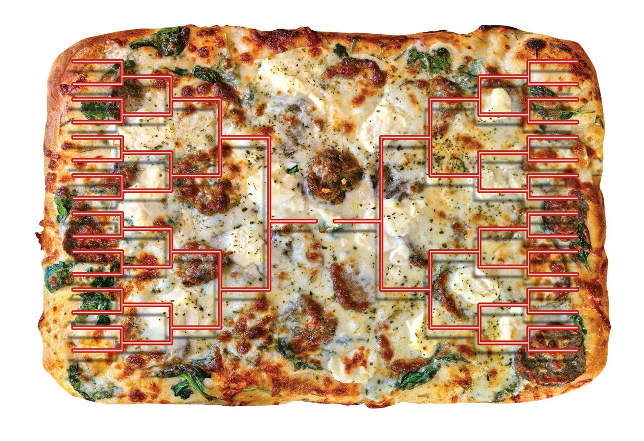 Pick the winners in the third round of our 32-pizza joint tourney.