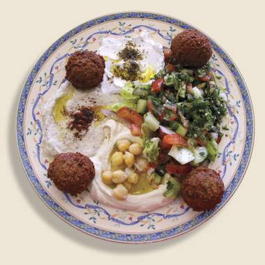 Amena's veggie combo packs a lot of flavor.