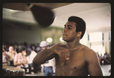 I Am the Greatest: Muhammad Ali opens Friday at the Strip art spot.