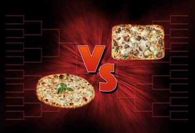 Pick the champion in the final round of our 32-pizza joint tourney.