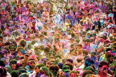 "The Sunset Park version of Holi, the springtime Indian ""festival of love,"" is set for April 15."