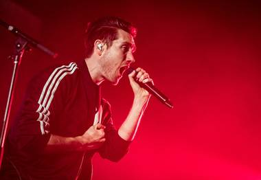 """This is probably the happiest-sounding song you'll ever hear about death,"" frontman Dan Smith joked."