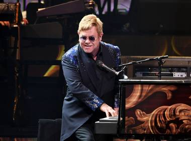 Elton John is honored as Worldwide Record Store Day Legend while he returns to his residency production at the Colosseum.