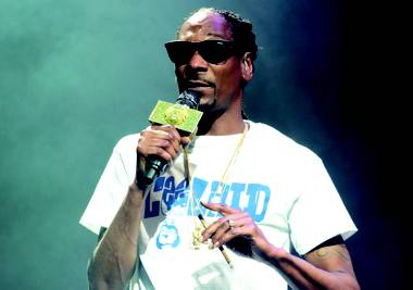 Snoop headlines the Mount Kushmore Wellness Retreat Tour at Mandalay Bay Beach.