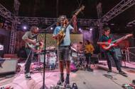King Gizzard & The Lizard Wizard performs at the Hard Rock Pool, April 18, 2017.