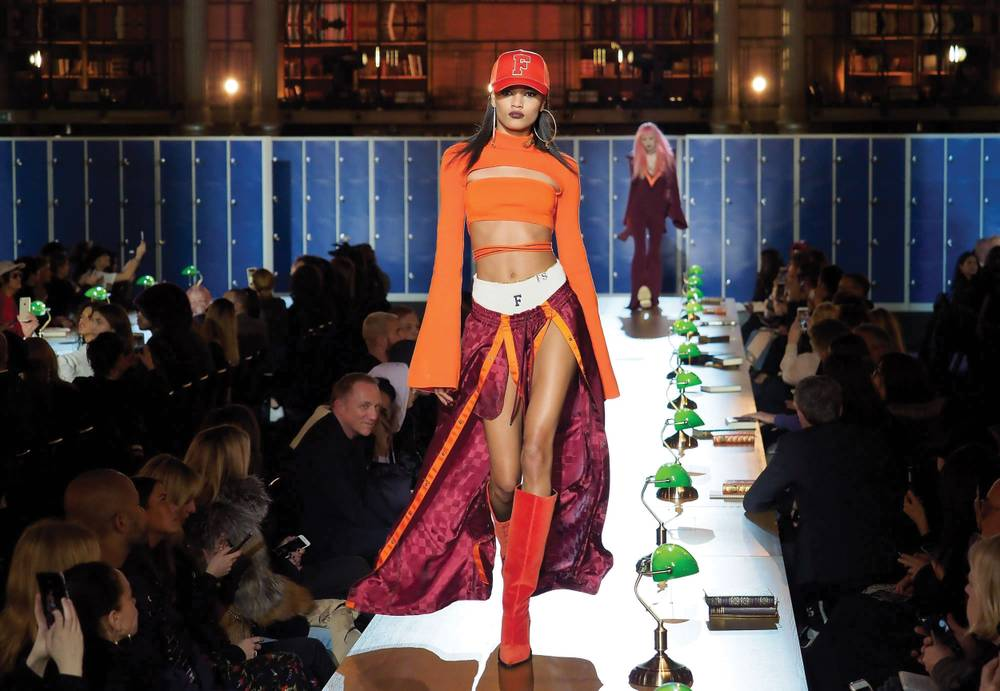 huge selection of 77e33 a5e58 Rihanna's fall Fenty Puma line is playful, sexy and dazzling ...