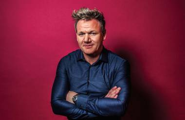 Gordon Ramsay is set to open his fifth Vegas restaurant Strip-side at Caesars Palace.