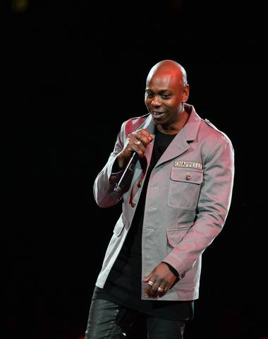 Dave Chappelle, performing May 5 at Mandalay Bay Events Center.