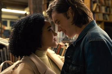 The romance straddles the line between sweet and cloying, and Amandla Stenberg's performance is a winning one.