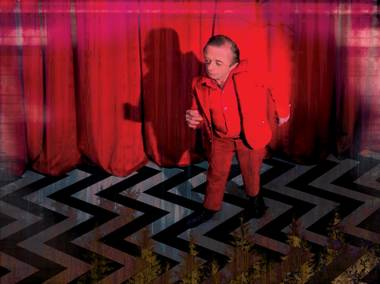 From the original Twin Peaks series: The Man from Another Place.