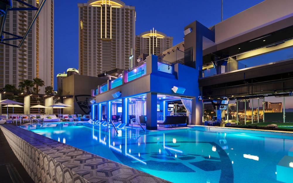 Swing Into Summer At Topgolf S Hideaway Pool Las Vegas