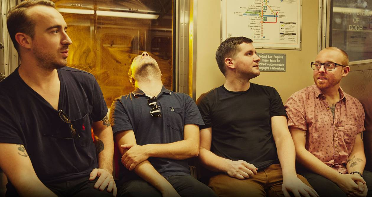 The Menzingers play a club show Saturday night at the Bunkhouse.