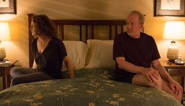 Tracy Letts and Debra Winger make the most of their rare leading roles, and the director trusts them to convey the story's complex emotions, often wordlessly.