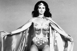 Lynda Carter played the TV version.