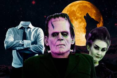Bride of Frankenstein, the Invisible Man and more.