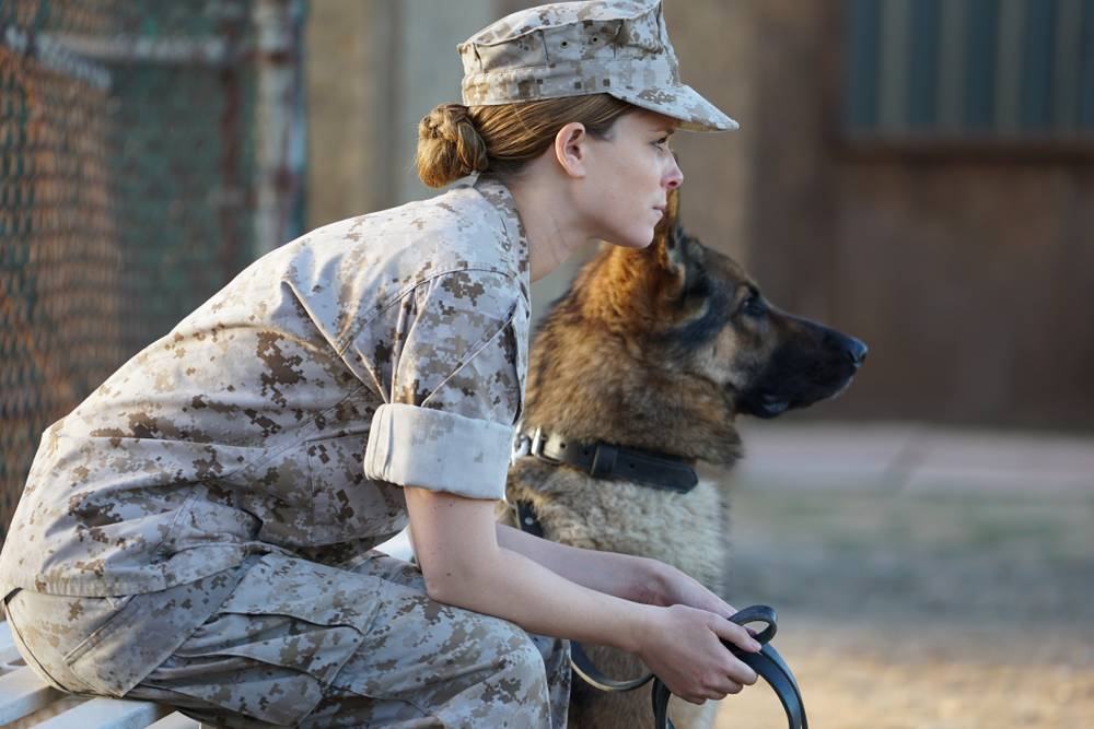 Marine fights to keep her military dog in 'Megan Leavey'