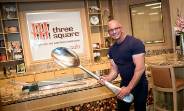 Chef Robert Irvine looks forward to working with Three Square