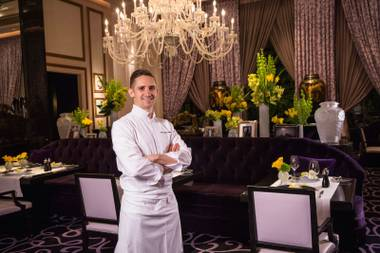 De Lellis was handpicked by Joël Robuchon to lead the Chef of the Century's Michelin three-star restaurant at MGM Grand.