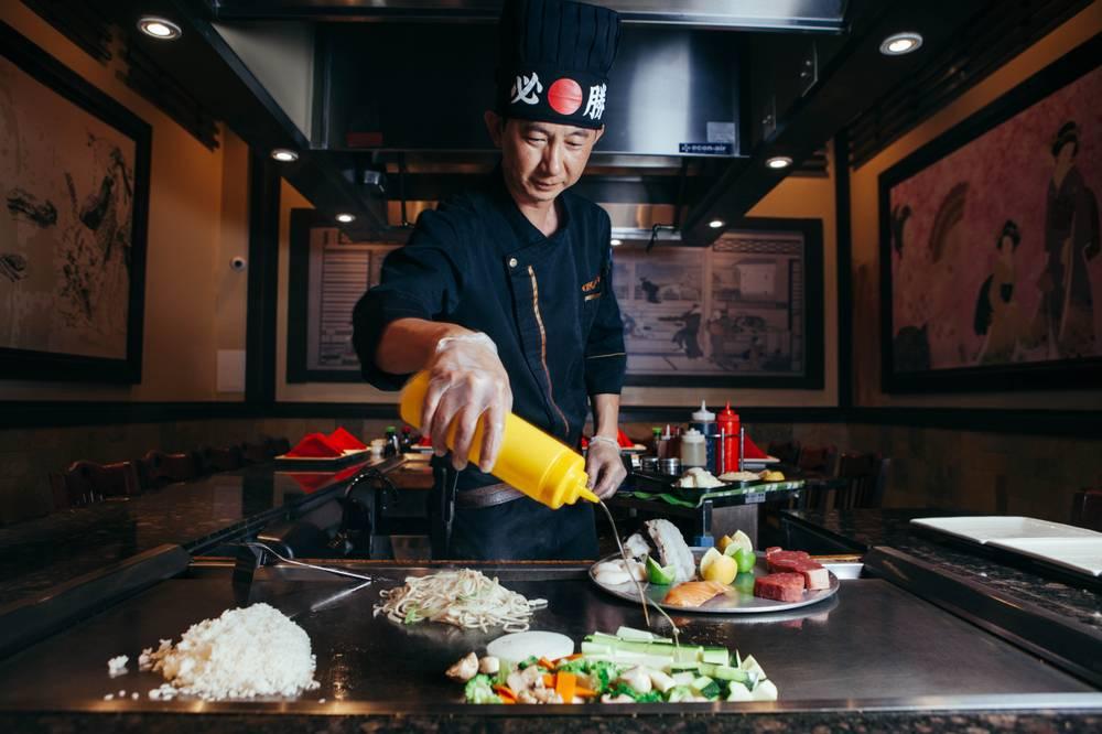 Best Teppanyaki Restaurant In Las Vegas Geisha Steakhouse You