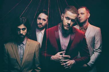 Reynolds, second from right, and the Dragons release new LP Evolve on June 23.