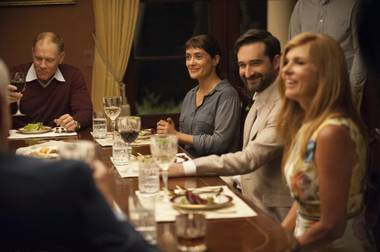 A tense dinner confrontation between right- and left-wing perspectives might sound unpleasant, but this movie has more depth than a simple political shouting match.