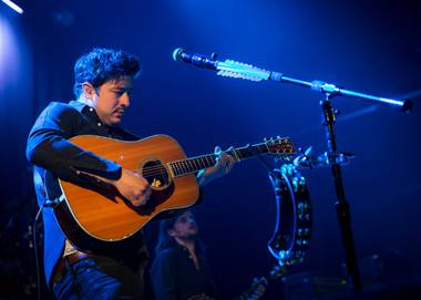 Mumord & Sons' Marcus Mumford, performing June 24 at the Joint.
