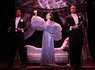 Fashion icon Dita Von Teese, an ageless 44, brings The Art of the Teeseback to Vegas.