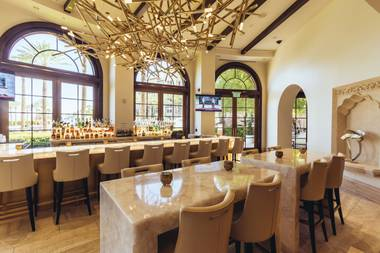Green Valley Ranch Resort's new lobby bar is worth checking into.