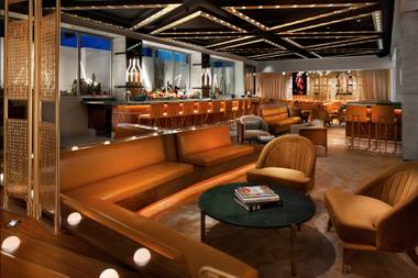 Need a reason to check out the new W hotel at SLS? This lush cocktail bar is it.