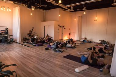 Live-music yoga, call-and-response chanting, group meditation and more await at the GY.