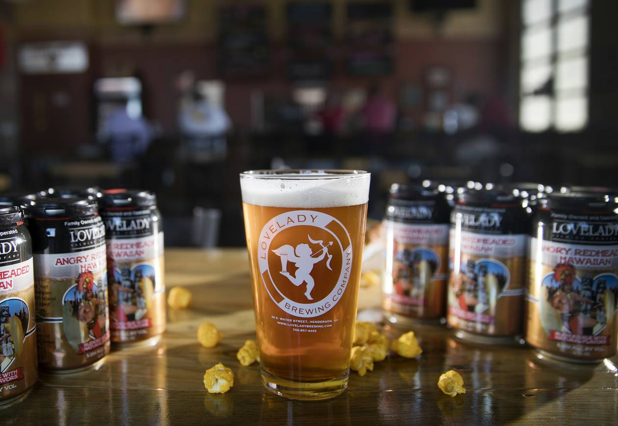 A local craft beer that's sweet, sour and spicy