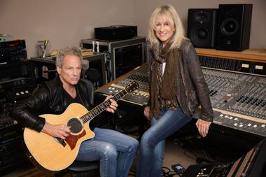 Buckingham and McVie team up at Park Theater on July 22.