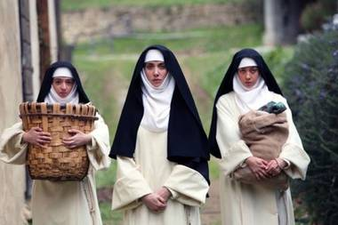 It looks like prestigious Oscar-bait before introducing three nuns who unleash a barrage of F-bombs on a poor gardener.
