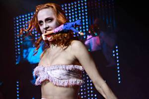 Zombie Burlesque at Planet Hollywood.