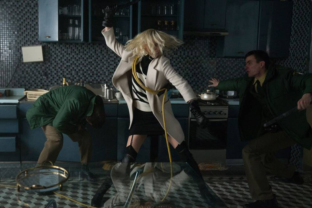 Charlize Theron outshines the rest of Atomic Blonde