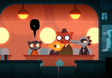 Night in the Woods is an adorable drama about an anthropomorphic cat dropping out of college and returning home to her small town.