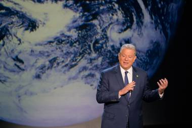 Gore gives an update on the end of the world.