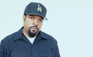 Ice Cube performs at Rehab on Sunday.