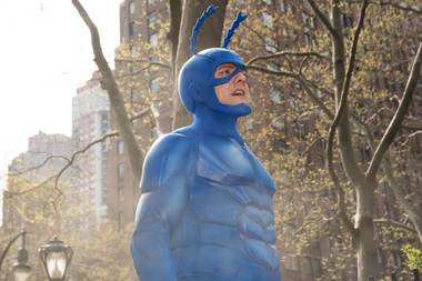 Amazon's version takes a darker approach to the character's adventures, while retaining some of the silliness of a hulking, exuberant man-child in a bright blue costume.